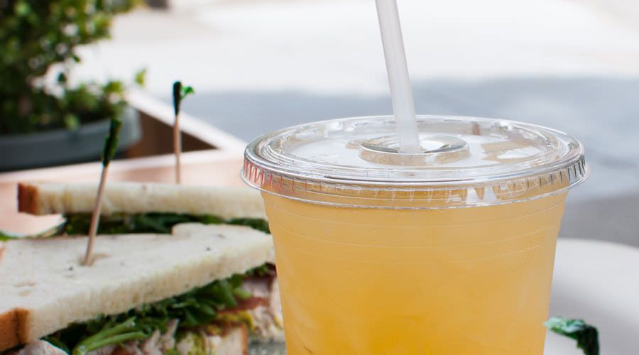 We make fresh lemonade every day.